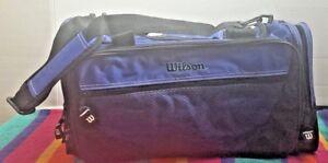 """Wilson Club Tote Locker Gym Travel Yoga Duffle Bag 18 X 9 X 8"""" Shoulder Strap"""