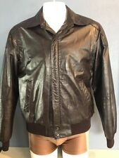 Vtg MEMBERS ONLY Rainbow Tag Biker's Casual Men's Leather Jacket Size 40