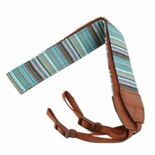 Bohemia Stripes DSLR Camera Shoulder Neck Belt Strap For Canon Nikon Sony Pentax