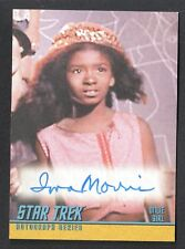 STAR TREK TOS 40th ANNIVERSARY SERIES 2 Autograph Card #A139 IONA MORRIS