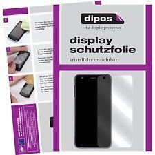2x BQ Aquaris X5 Plus Schutzfolie klar Displayschutzfolie Folie dipos