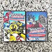 Transformers Lot of 2 DVDs Battle Begins Animated