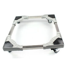 Movable Adjust Base Bracket Stand Wheel For Washing Machine Refrigerator USA