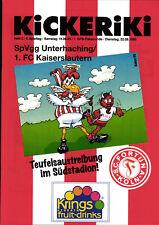 DFB-Pokal 95/96 Fortuna Köln - 1. FC Kaiserslautern / SpVgg Unterhaching (BL)