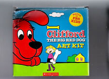 Clifford the Big Red Dog Art Kit In Box