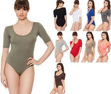 Hip Length Body No Pattern Regular Tops & Shirts for Women
