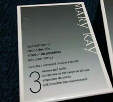 MARY KAY LOT OF (2) EYELASH CURLER INCLUDES 3 SILICONE PAD REFILLS 030578