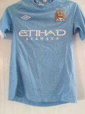 """Manchester City 2010-2011 Hogar Camiseta De Fútbol pecho de tamaño 36""""/41264"""