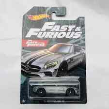 Hot Wheels Cars Metal Alloy Diecast Kid Toy Collect Model Car  MERCEDES-AMG Gray