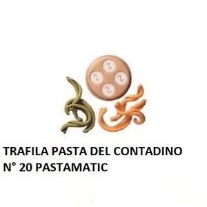 SIMAC TRAFILA PASTA DEL CONTADINO N° 20 PER PASTAMATIC PM1000 PM1400N PM700N ECT
