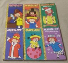 Lot 6 MADELINE Childrens VHS Videos Movies Ludwig Bemelmans CHRISTMAS London ++