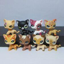 8pc Littlest Pet Shop LPS Toy Cat #1170 #2249 #1962 #2118 #2291 #3573 #816 #1451