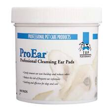 Dog Ear Cleansing Pads - ProEar - Top Performance - Cat Pet Grooming - 100 Pads
