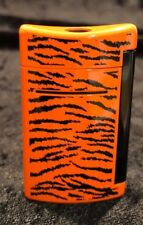 S.T. Dupont MiniJet Torch Flame Lighter, tiger Print  New  mini jet