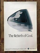 "megaPOSTER - APPLE STORE -- ""The Rebirth Of Cool"" - ORIGINAL - Vintage Rare 1999"