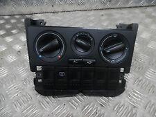VW Polo Match 2001 heater panel Avec A/C Interrupteur