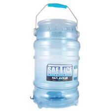 "San Jamar Bar/Restaurant Six Gallon Saf-T-Ice 18"" Tall Tote W/Handle #Sj Si6000"