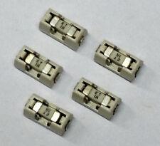 5 Stück 1A 125V Littelfuse 154001 Sicherungen mit Halter - Aufbaumontage (M2040)