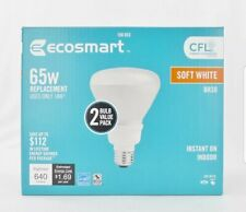 EcoSmart 2 Pack 65W Replacement Br30 Soft White 2700K 14w Cfl Fluorescent Bulbs