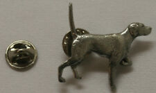 English Pointer Dog Fine PEWTER PIN Jewelry Art USA Made