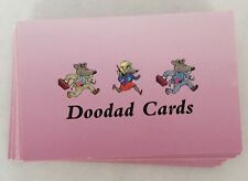 CashFlow 42 Doodad Cards Replacement Board Game Part Piece Rich Poor Dad