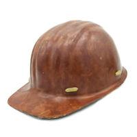 USSR Miner Helmet Soviet Donbass 1970s Ukraine Vintage Rare Collectible Retro