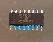 1Pcs MCP3008-I/SL MCP3008 ADC 10 bits-Bit SPI Différentiel SOIC 16 broches