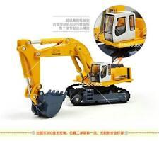 1:87 Excavator Crawler Construction Equipment Alloy Metal Diecast Model Truck