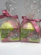 Soap And Glory Fizz A Ball Bath Bomb Sugar Crush Sweet Lime Zest 2 Pack 3.5oz