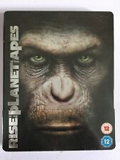 Rise Of The Planet Of The Apes Blu Ray Steelbook (FuturePak)