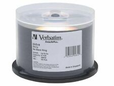 Verbatim 94852 Disk Dvd-r 4.7gb For General Use Shiny Silver 50/spdle 8x No