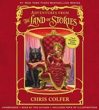 Adventures From The Land of Stories  Audio book  Chris Colfer - NEW - SEALED