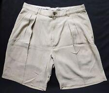 "Tommy Bahama RELAX Premium Golf Shorts, Mens 35"" Silk, Khaki, Gripper Waistband"