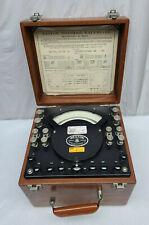 Vintage 1957 Weston Polyphase Watt Meter Model 329