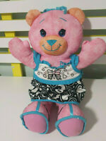 PINK DOODLE BEAR WITH DRESS! 2007 VERSION