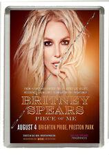 Britney Spears - Brighton Pride -  2018 - Fridge Magnet 90 mm x 60 mm