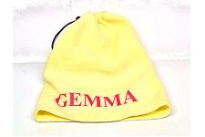 Personalised Cream Beanie Hat / Neck Warmer