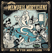 "LP ✦ THE MEMPHIS MORTICIANS ✦ ""Dial ""M"" For Mortician"". Garage/Punk/Trash. Hear♫"