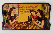 Vintage Sewing Needles Golden Eye Needles Nickel Plated Rustproof
