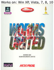 Worms United PC Game 1996 Windows XP Vista 7 8 10
