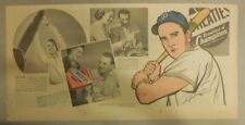 "Wheaties Cereal Ad: Pittsburgh Pirates ""Ralph Kiner"" from 1940's 7.5 x 15 inches"