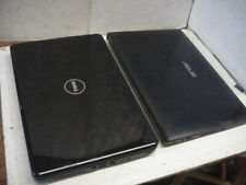 Lot of 2 Non-Working Laptops - Asus & Dell - Black - As Is For Parts Only