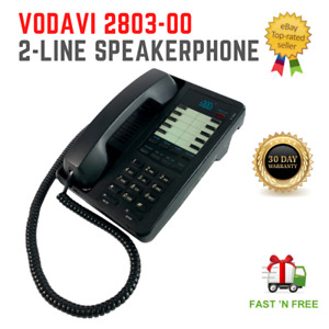 Vodavi Starplus 2803-00 10 Button 2-Line SpeakerPhone Black