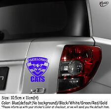 GEELONG CATS Refelctive Car Sticker  Decals  Stickers Best Gift