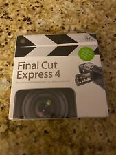 NEW Apple Final Cut Express 4 HD Upgrade French MB339F/A Software 7