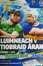 June 2019 Limerick v Tipperary GAA Munster hurling final programme in Limerick
