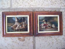 Magnifique paire d'huiles sur toile 16èmes 17èmes grand peintre