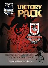 2010 NRL Premiers Victory Pack (DVD, 2010, 5-Disc Set)
