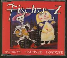 FISCHER-Z Tightrope 3 TRACK DUTCH CD SINGLE W spanish promo stamp JOHN WATTS