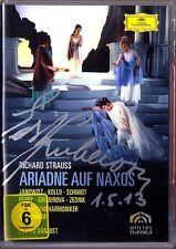 DVD Edita GRUBEROVA Signed STRAUSS ARIADNE AUF NAXOS Janowitz Kollo Equiluz BÖHM